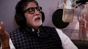Amitabh Bachchan records a lullaby for Thugs Of Hindostan(Twitter)
