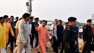 """The Shiv Sena said Saturday the renaming of cities in Uttar Pradesh by chief minister Yogi Adityanath was a """"lollipop"""" to lure voters ahead of the Lok Sabha polls next year.(HT File Photo)"""