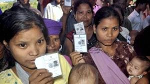 Among the 40 elected legislators in Mizoram who take crucial decisions on shaping the state's future, only one is a woman. As Mizoram goes to polls one more time on November 28, the scenario isn't likely to change much.(PTI)