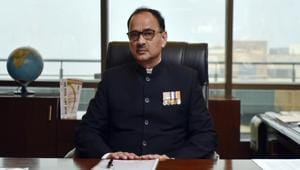 The Central Vigilance Commission (CVC) handed over a report of its probe on Central Bureau of Investigation (CBI) director Alok Verma, who was divested of his powers last month, to the Supreme Court on Monday.(Ravi Choudhary/HT PHOTO)