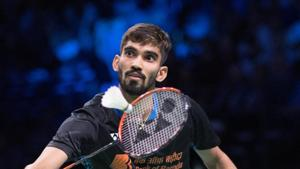 File image of Kidabi Srikanth in action during a match.(REUTERS)