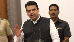 Maharashtra chief minister Devendra Fadnavis on Thursday signalled that the government would deliver on its promise on extending quota benefits for Maratha community in education and jobs.(HT Photo)