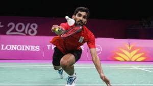 File image of India shuttler Kidambi Srikanth in action during a Test match(Getty Images)