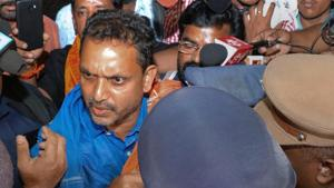 Sabarimala: BJP leader 'manhandled' in police custody, party protests