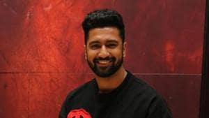 Vicky Kaushal is looking forward to the release of his next Bollywood film, Uri.(Manoj Verma/HT)