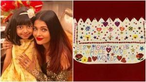 Aishwarya Rai recently celebrated Aaradhya's birthday with the whole family.