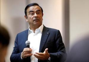 Carlos Ghosn, Former chairman and CEO of the Renault-Nissan-Mitsubishi Alliance.(REUTERS)
