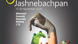 One evidence of the changing scenario is the ongoing JashneBachpan international theatre festival in Delhi with over 500 artistes, young and adults, taking part in 23 theatrical productions.(nsd.gov.in)