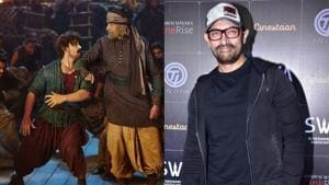Aamir Khan has taken full responsibility for the failure of Thugs of Hindostan.(Viral Bhayani)