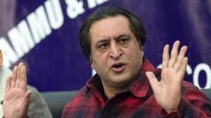 Sajjad Lone's claim comes days after Malik dissolved the state assembly that was kept suspended since June, following claims for government formation by two groups — BJP-backed Lone and PDP's Mehbooba Mufti with the support of NC and Congress on November 21.(PTI)