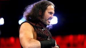 File image of WWE wrestler Matt Hardy(Twitter)