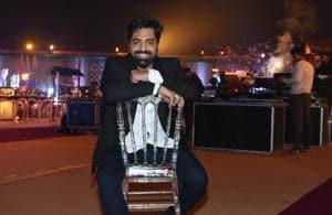 Akhil Sachdeva calls his music journey unconventional.(HT Photo)