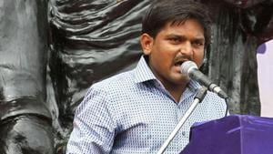 Hardik Patel sought a survey to establish social and economic backwardness of Patidars.(AP file photo)