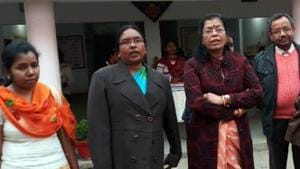 Jharkhand state commission for women(JSCW) chairperson Kalyani Sharan and other members of probe team gave clean chit to police in alleged child marriage under Rajnagar police station in Saraikela - Kharsawan(Manoj Kumar/ HT Photo)