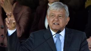 Mexico's President Andres Manuel Lopez Obrador has said the strategy will be put to a public vote, likely in March.(AFP)