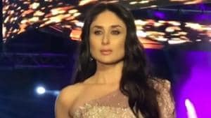 Kareena Kapoor Khan and Kartik Aaryan attended Masala Awards 2018 in Dubai.(Viral Bhayani/Instagram)