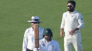 Pakistan take on New Zealand in the third Test in Abu Dhabi.(AFP)