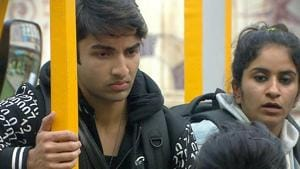 Rohit Suchanti and Surbhi Rana will now compete in the captaincy task.(Twitter)