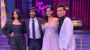 The Kapoor siblings Sonam, Rhea and Harshvardhan will be seen together on talk show Koffee With Karan.(Instagram)