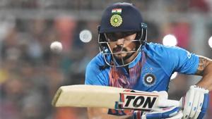 Manish Pandey played an unbeaten knock of 111.(AFP)
