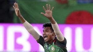 Mustafizur Rahman won the IPL in 2016 with Sunrisers Hyderabad.(AP)