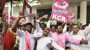 TRS sweeps Telangana, KCR wins by over 50,000 votes