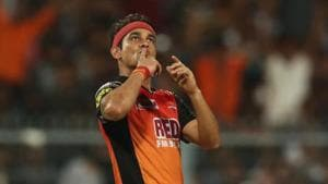 Siddharth Kaul took four wickets against New Zealand in the third match.(BCCI)