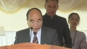 Zoramthanga sworn in as Mizoram chief minister