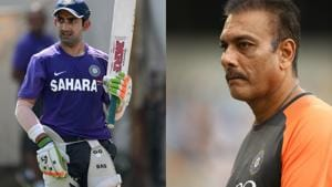 Gambhir has lashed out at Ravi Shastri(GettyImages)