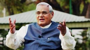The UP government will set up a statue of former PM Atal Bihari Vajpayee at the state secretariat in Lucknow. (File Photo)(PTI)