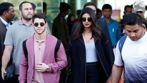 Actor Priyanka Chopra and her singer husband Nick Jonas will leave for Switzerland on December 28.(REUTERS)
