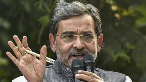 """A coup has been a possibility in the RLSP ever since Upendra Kushwaha (pictured) rejected BJP's seat offer for the 2019 Lok Sabha polls as """"less than respectable"""".(PTI/File Photo)"""