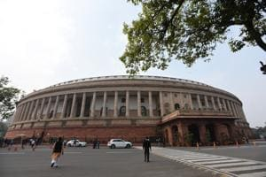The stage is set for a confrontation between the government and the Opposition in the second week of the winter session. The first week was all but lost to din and disruptions as different parties were adamant on their demands.(Sonu Mehta/HT Photo)