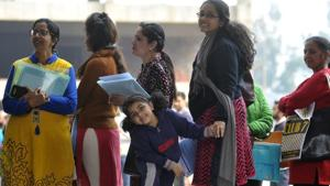 Delhi's Department of Education officials said the barred schools will not be allowed to start with admissions for the session 2019-20 unless there are some clear reasons justifying their act.(HT Photo)