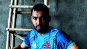 Anup Kumar poses for a picture.(Anup Kumar/ Twitter)