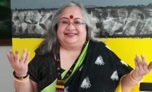 Artist and art curator Alka Raghuvanshi says Shabana Azmi's comment was hurtful.