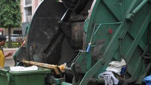 The PCMC has been receiving complaints from local residents stating drivers of garbage pickup trucks implement various tactics such as skipping prescribed route, to escape duty.(HT representational photo)