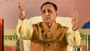 Cong overjoyed like family that has son after years: Rupani on poll results