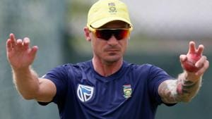 File image if South Africa fast bowler Dale Steyn.(REUTERS)