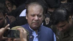 If found guilty, Pakistan's former prime minister Nawaz Sharif can be sentenced up to 14 years in jail.(AP)