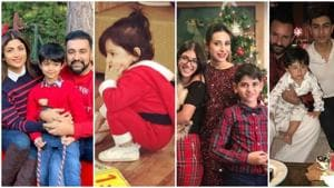 Shilpa Shetty is in London with her family. Esha Deol, Karisma Kapoor and Sara Ali Khan shared these pictures for Christmas.(Instagram)