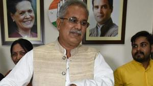 The Chhattisgarh government issued a press release on Monday stating that chief minister Bhupesh Baghel has issued directions to the concerned department and the process of returning the land of the tribals will start soon.(Arijit Sen/HT Photo)