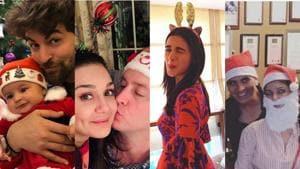 Here's how Bollywood celebs including Alia Bhatt, Preity Zinta and Neil Nitin Mukesh celebrated Christmas.(Instagram)