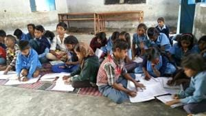 A total of 1,140 schools have fewer than 40 students.(File)