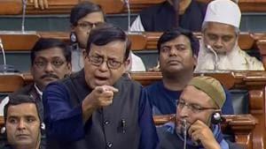 New Delhi: CPI(M) MP Mohd. Salim speaks as he participates in the Triple Talaq debate, in the Lok Sabha in New Delhi, on Thursday, Dec. 27, 2018. (LSTV grab via PTI) (PTI12_27_2018_000106B)(PTI)