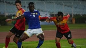 East Bengal and Real Kashmir played out a 1-1 draw in I-League.(AIFF)