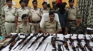 21 AK-47 assault rifles smuggled into Munger, Bihar(File)