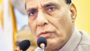The central government is ready for assembly election in Jammu and Kashmir on any date and it is unfair to doubt its intentions in the troubled state, Union home minister Rajnath Singh said in Lok Sabha .(Bloomberg Photo)
