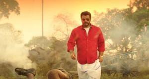 Ajith Kumar in Viswasam trailer.