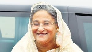 Bangladesh's premier and ruling party leaders have attacked the opposition in the bitter campaign for Sunday's general election.(Hindustan Times)